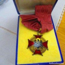 Militaria: MEDALLA ENCOMIENDA ORDEN DE CISNEROS, FRANQUISTA. Lote 129015980