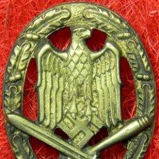 Militaria: HEER ASALTO GENERAL. ALLGEMENIES STURMABZEICHEN. CATEGORIA BRONCE. MEDIDAS: 55 X 43 MM. BUNTMETALL.. Lote 112125595
