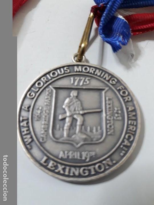 MEDALLA CONMEMORATIVA DE LA BATALLA DEL LEXINGTON (Militar - Medallas Extranjeras Originales)