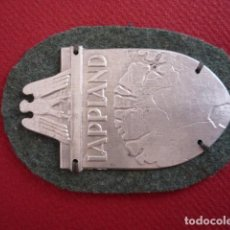 Militaria: PLACA LAPPLAND III REICH. Lote 112534451