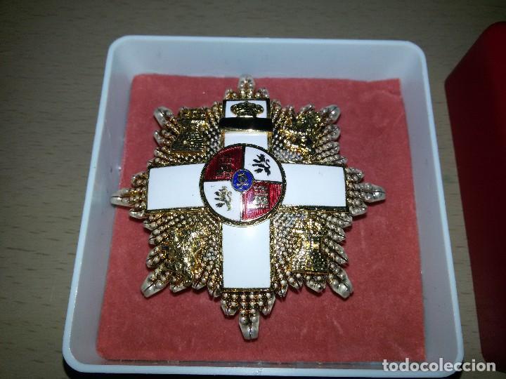 PLACA DE LA GRAN CRUZ-ORDEN DEL MÉRITO MILITAR (Militar - Medallas Españolas Originales )
