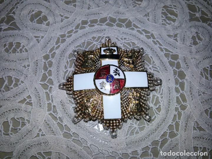 Militaria: PLACA DE LA GRAN CRUZ-ORDEN DEL MÉRITO MILITAR - Foto 5 - 113125231