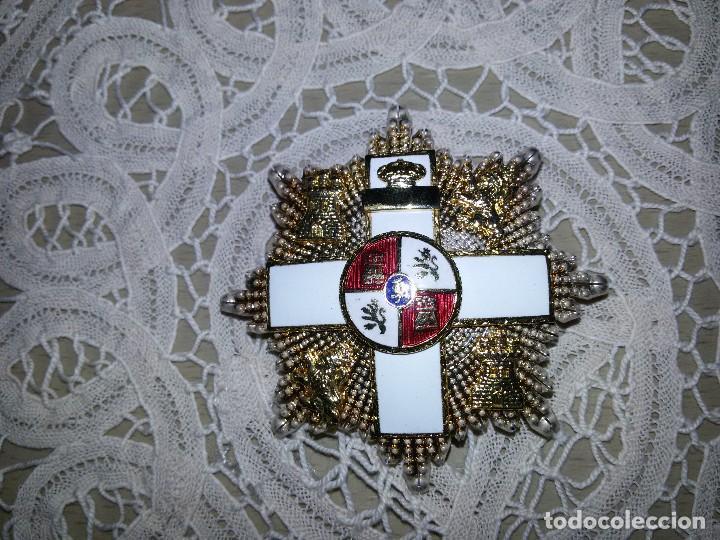 Militaria: PLACA DE LA GRAN CRUZ-ORDEN DEL MÉRITO MILITAR - Foto 8 - 113125231
