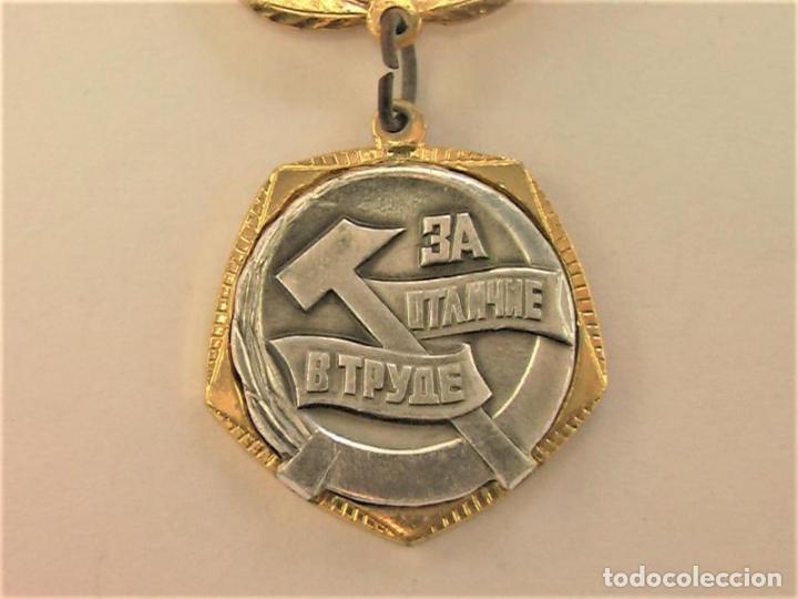 Militaria: Medalla sovietica .Por buena faina .Central Comitet de Komsomol.URSS - Foto 3 - 226391305