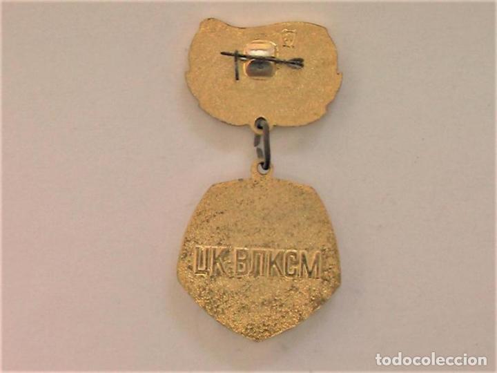 Militaria: Medalla sovietica .Por buena faina .Central Comitet de Komsomol.URSS - Foto 4 - 226391305
