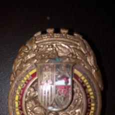 Militaria: PLACA DE LA DIRECCIÓN GENERAL DE SEGURIDAD.. Lote 113398443