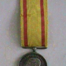 Militaria: GUERRA CARLISTA : MEDALLA ALFONSO XII A EJERCITOS EN OPERACIONES, PLATA. TAMAÑO PRINCESA.. Lote 113416931