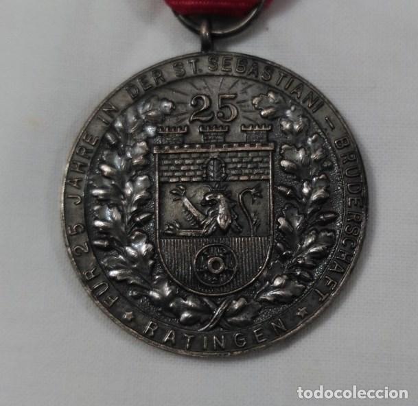 Militaria: MEDALLA 25 AÑOS ORGANIZACIÓN DE TIRO. ALEMANIA. - Foto 3 - 114094931