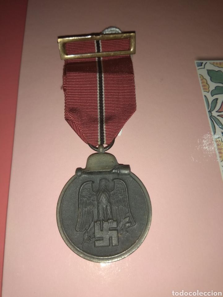 MEDALLA DE INVIERNO IMOSTEN 1941/42 (Militar - Medallas Españolas Originales )