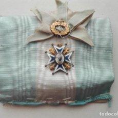 Militaria: VENERA ORDEN DE CARLOS III. EPOCA ALFONSO XIII O ANTERIOR. Lote 114565163
