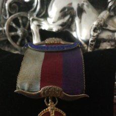 Militaria: MEDALLA MASONICA DE GRAN VALOR.ORDEN DEL BUFALO.. Lote 114682227