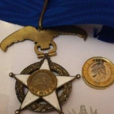 Militaria: ORDEN DEL MÉRITO DE CHILE EN PLATA Y ESMALTE. Lote 114724807