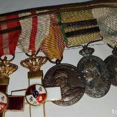 Militaria: PASADOR DE CONDECORACIONES ESPAÑOLAS . Lote 114728191