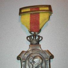 Militaria: MEDALLA DE LOS AYUNTAMIENTOS A ALFONSO XIII. Lote 114728763