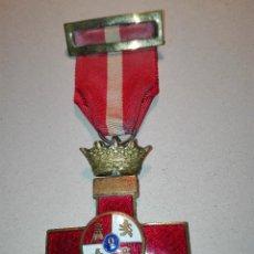 Militaria - Medalla del Merito Militar distintivo Rojo. Epoca de Franco - 114729327