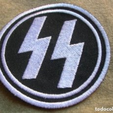 Militaria: EXCEPCIONAL PARCHE WAFFEN SS. GRAN TAMAÑO.. Lote 114730419