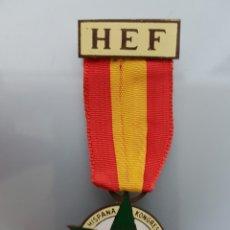 Militaria: ANTIGUA MEDALLA XXIV KONGRESO ESPERANTO 1963 HEF. Lote 114745535