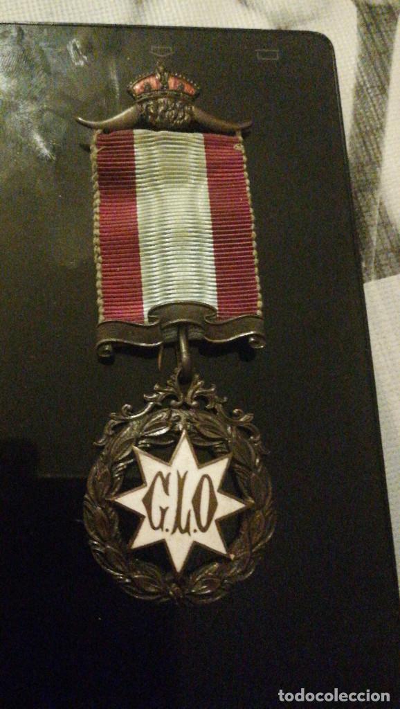 MEDALLA O CONDECORACION MASONICA IMPORTANTE. (Militar - Medallas Extranjeras Originales)