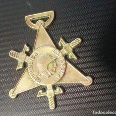 Militaria: MEDALLA BRONCE ORIGINAL BRIGADAS INTERNACIONALES OCTUBRE 1938 GUERRA CIVIL. Lote 114963611