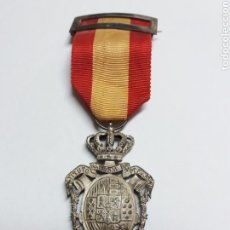 Militaria: MEDALLA INSTITUTO NACIONAL DE PREVISION, PLATA. Lote 114968567