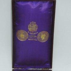 Militaria: MEDALLA VENERA DE JUSTICIA. ÉPOCA ALFONSO XIII. MEDALLA VENERA PARA IR COLGADA AL CUELLO. REALIZADA . Lote 115184659