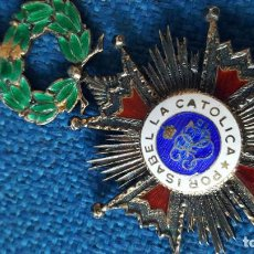 Militaria: ORDEN DE ISABEL LA CATOLICA CON MARCAJE EN LA ANILLA. Lote 115237079