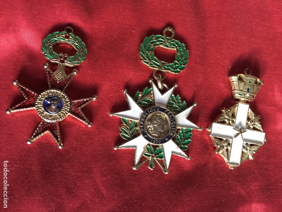 LOTE MEDALLAS COLECCIÓN (Militar - Reproducciones y Réplicas de Medallas )