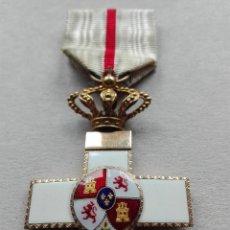 Militaria: MEDALLA MÉRITO MILITAR DISTINTIVO BLANCO. ORO. ALFONSO XIII.. Lote 115486271