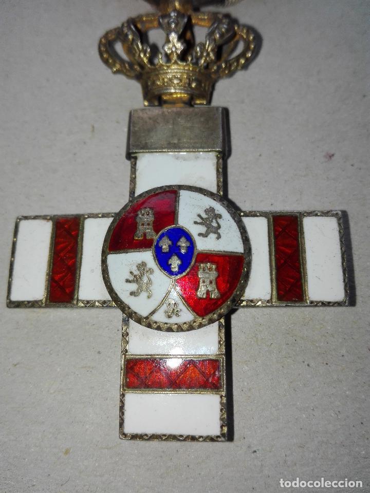 Militaria: Medalla Mérito Militar Pensionada. Isabel II - Foto 2 - 115487083