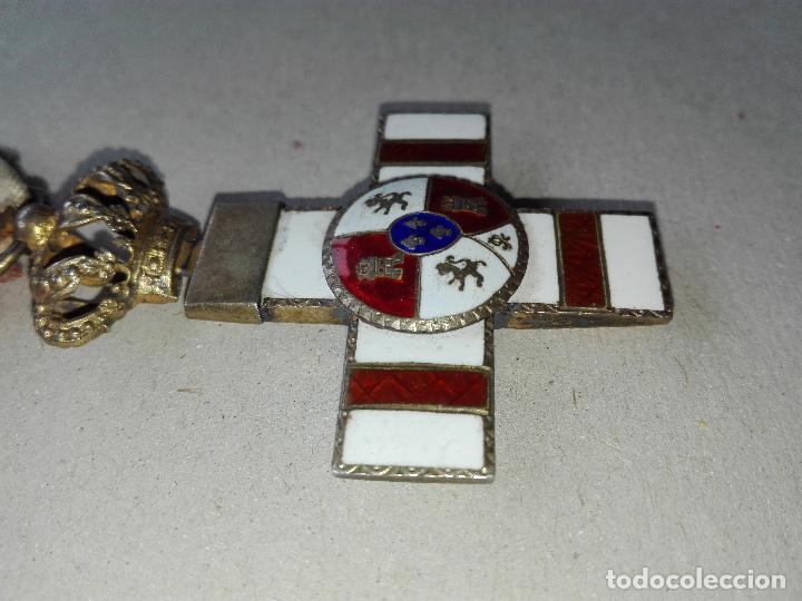 Militaria: Medalla Mérito Militar Pensionada. Isabel II - Foto 3 - 115487083