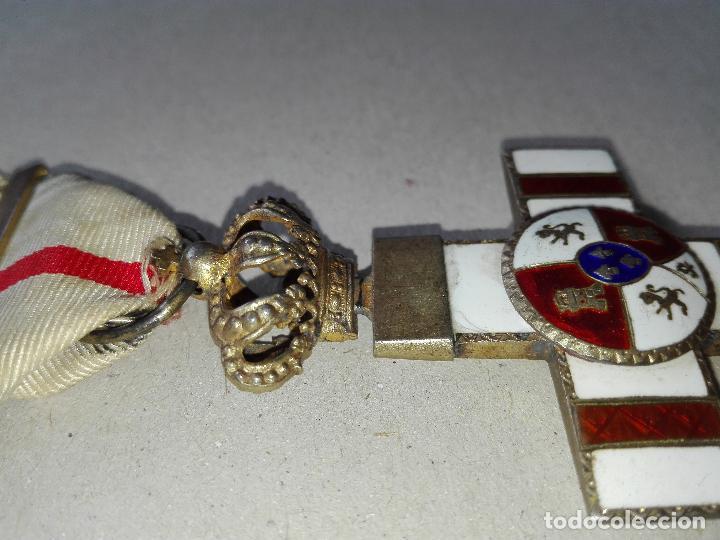Militaria: Medalla Mérito Militar Pensionada. Isabel II - Foto 5 - 115487083