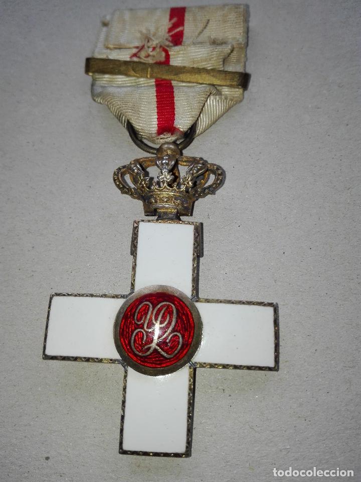 Militaria: Medalla Mérito Militar Pensionada. Isabel II - Foto 6 - 115487083