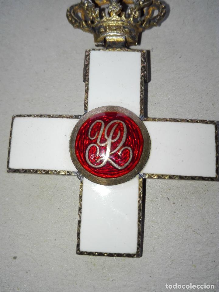 Militaria: Medalla Mérito Militar Pensionada. Isabel II - Foto 7 - 115487083
