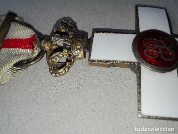 Militaria: Medalla Mérito Militar Pensionada. Isabel II - Foto 8 - 115487083
