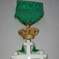 Militaria - Medalla Orden de San Lázaro. Monarquía Italia. Oro. - 115489823