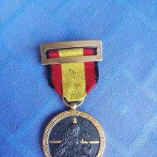 Militaria: MEDALLA ORIGINAL DE LA CAMPAÑA 1936-1939 CON DOCUMENTO DE CONCESIÓN. ÉPOCA DE FRANCO. GUERRA CIVIL. Lote 115708647