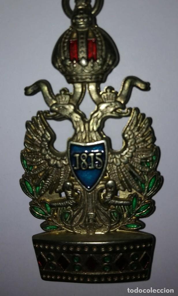 MEDALLA MILITAR - AUSTRIA. ORDEN DE LA CORONA DE HIERRO. 1815 REPLICA (Militar - Reproducciones y Réplicas de Medallas )
