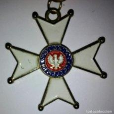 Militaria: ORDEN DE POLONIA RESTITUTA (VERSIÓN DE CABALLERO) - MEDALLA MILITAR - FACSÍMIL. Lote 116107611