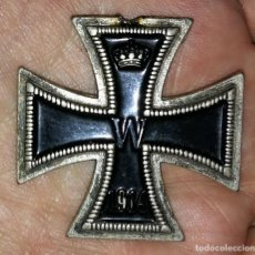 Militaria: CRUZ DE HIERRO 1813 - 1914 - MEDALLA MILITAR - FACSÍMIL 4,4CM X 4,4CM. Lote 137492821