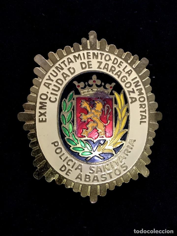 PLACA POLICIA SANITARIA (Militar - Medallas Españolas Originales )