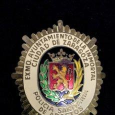 Militaria: PLACA POLICIA SANITARIA. Lote 116109887