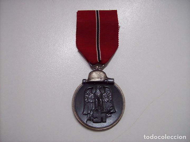 MEDALLA CAMPAÑA DE INVIERNO RUSIA. 1941-1942. WINTERSCHLACHT IMOSTEN. MARCAJE 65 (Militar - Medallas Españolas Originales )