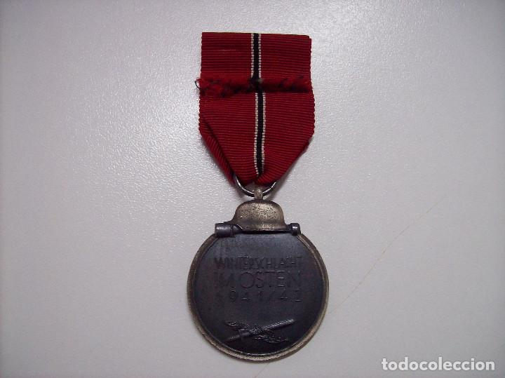 Militaria: MEDALLA CAMPAÑA DE INVIERNO RUSIA. 1941-1942. Winterschlacht imosten. MARCAJE 65 - Foto 2 - 116351447