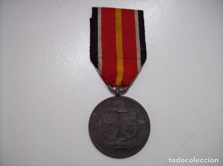 MEDALLA DIVISION ESPAÑOLA DE VOLUNTARIOS EN RUSIA MARCAJE 1 (Militar - Medallas Españolas Originales )
