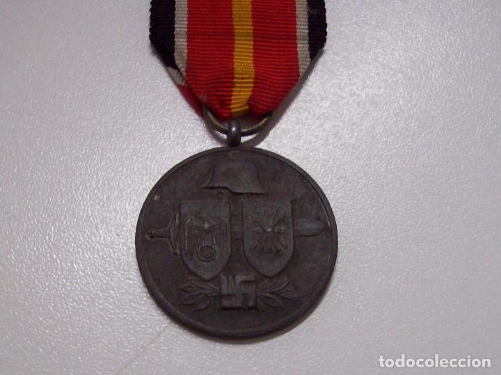 Militaria: MEDALLA DIVISION ESPAÑOLA DE VOLUNTARIOS EN RUSIA MARCAJE 1 - Foto 3 - 116357031