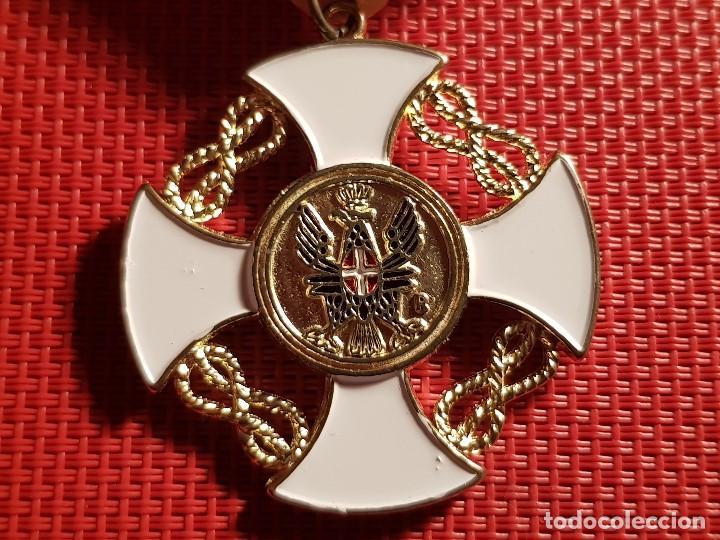 MEDALLA MILITAR ORDEN DE LA CORONA ITALIA REPLICA (Militar - Reproducciones y Réplicas de Medallas )
