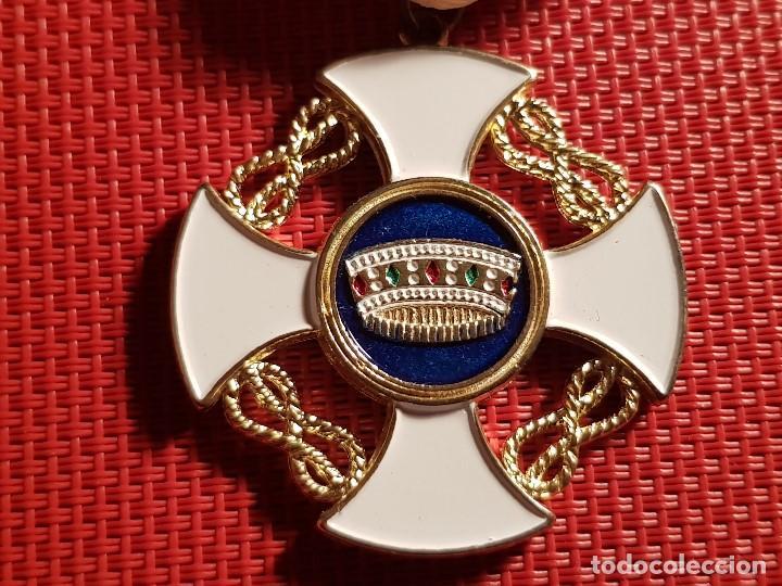 Militaria: MEDALLA MILITAR ORDEN DE LA CORONA ITALIA REPLICA - Foto 2 - 116397215