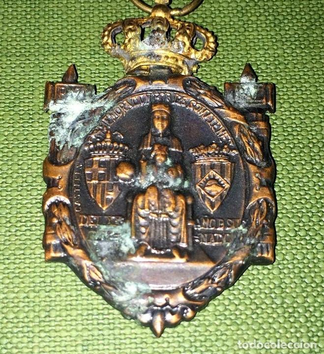 Militaria: MEDALLAS CONMEMORACIÓN ANIVERSARIO SOMATENES. METAL. SEDA. ESPAÑA. 1923 - Foto 2 - 116430319