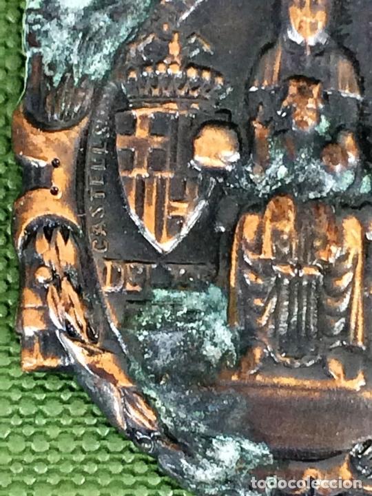 Militaria: MEDALLAS CONMEMORACIÓN ANIVERSARIO SOMATENES. METAL. SEDA. ESPAÑA. 1923 - Foto 5 - 116430319