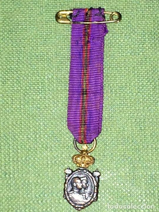 Militaria: MEDALLAS CONMEMORACIÓN ANIVERSARIO SOMATENES. METAL. SEDA. ESPAÑA. 1923 - Foto 7 - 116430319